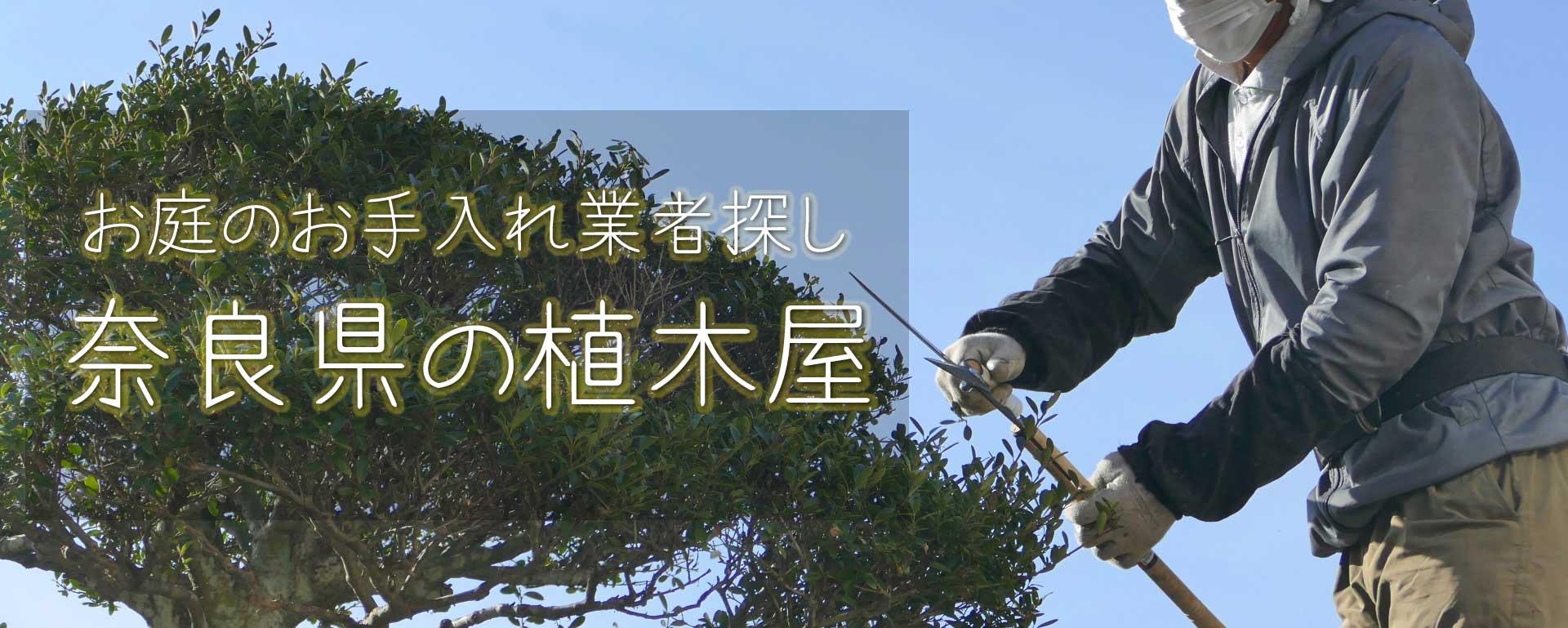 見積り無料の奈良県の植木屋